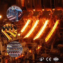 Billet continuous casting machine for foundry and steel plant