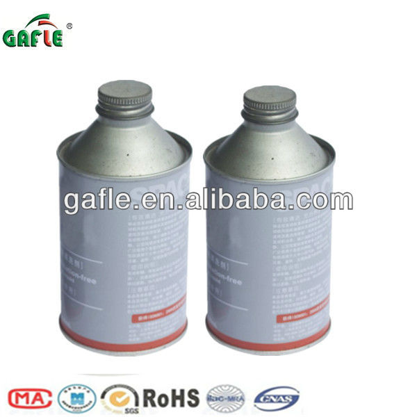 high boiling point heavy-duty brake fluid dot 3 in tin bottles
