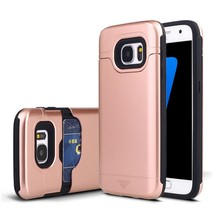 Shockproof TPU PC Combo Case For Samsung galaxy S8 with card slot