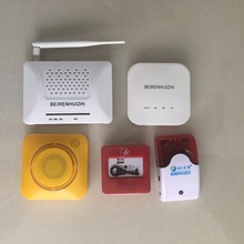 Wireless GSM SMS Home Security smart burglar House Fire Alarm System