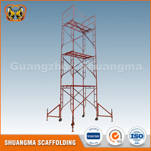 New arrival oem service used building frame scaffolding