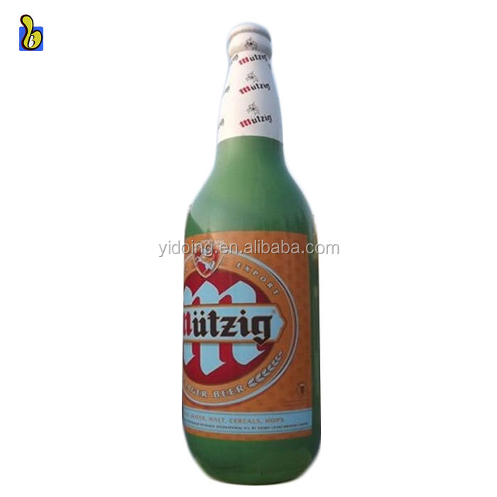 5m H large inflatable beer bottle, beer bottle replicas inflatables K3042-1