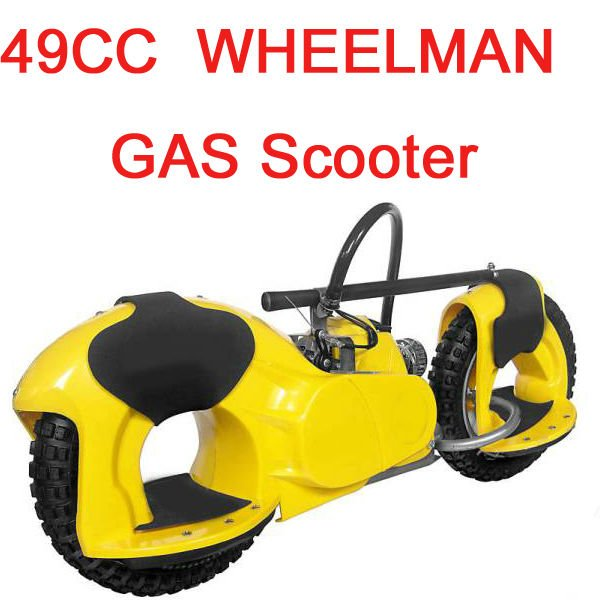49cc hand start scooter petrol approved loading 150kgs 2HP g wheel EPA approved