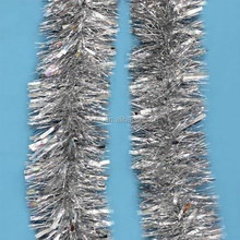 2015 Hot Sale Christmas Silver Tinsel Types Of Christmas Decorations