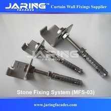 SS201 202 304 Stone Fixing System for Saudi Arabia Market,Up Down Angle Fixings (MFS-03)
