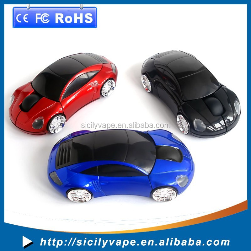 2.4G Car Shape Wireless Optical Mouse Mice For gaming for window Laptop PC USB Receiver