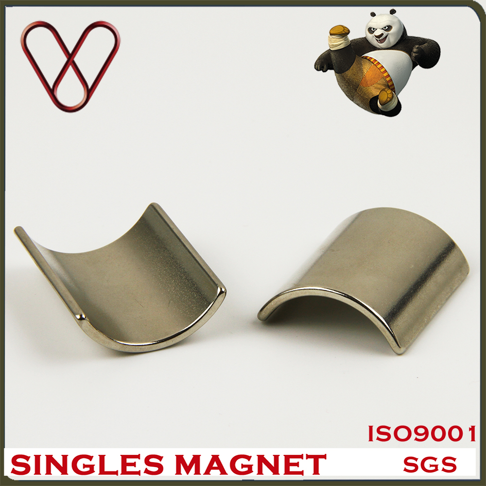 Strong Ndfeb Curved Magnets for Motor