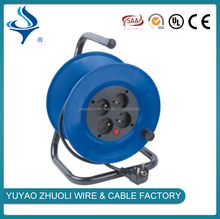High speed high performance retractable cord cable reel