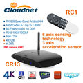 New Arrival CR13 RK3288 Android 4.4 Quad Core 4K*2K HD Android TV Box Cortex A17 1.8GHz With MIC & 2MP/5MP Camera