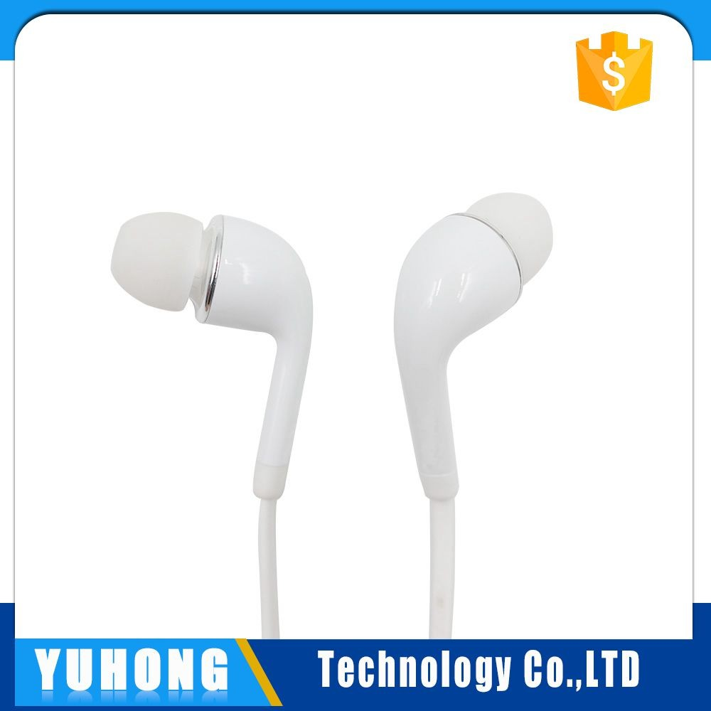Factory Supply 120cm Wired Silicone laptop headset For samsung S5