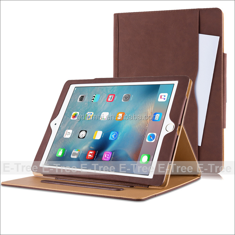 Leather Stand Foldable Case Cover with Multiple Viewing auto Sleep Wake For Apple iPad Pro 9.7 inch