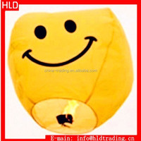 Wholesale Price Oval Smile Face Paper Fire Balloon