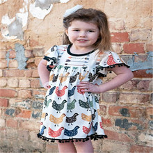 summer new arrival baby girls boutique outfits baby wholesale kids clothing