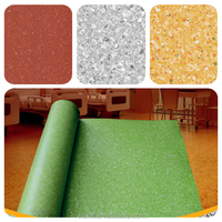 Hot Sale easy clean Non-directional homogeneous flooring, pvc flooring roll from china factory