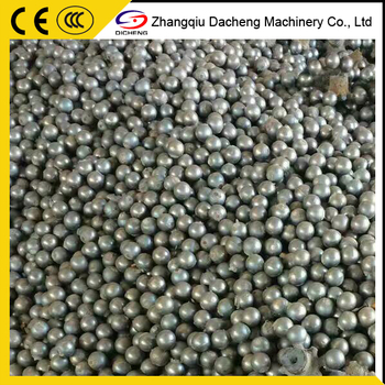 Low Chrome Cast Grinding Steel Ball For Ball Mill