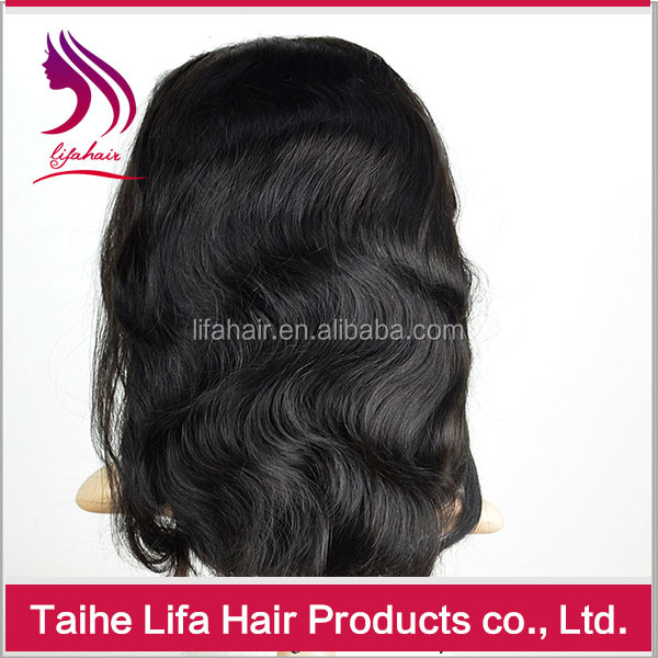 curly virgin remy hair 100% virgin real girl pussy hair full french lace wigs