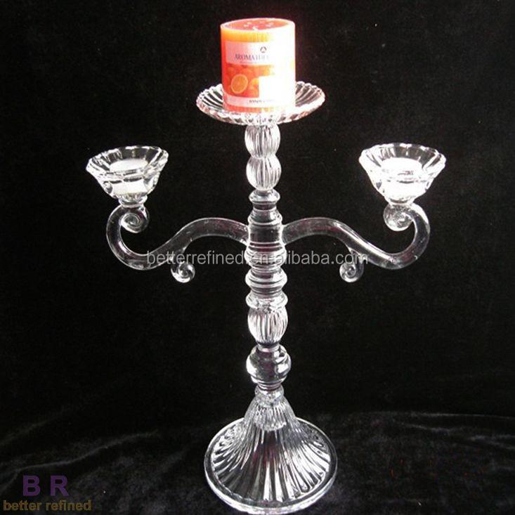 Antique glass candelabra wedding centerpiece buy