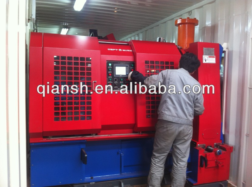 Containerized Pipe Cutting & Beveling Workstation