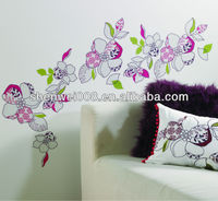 various color design office wall stickers