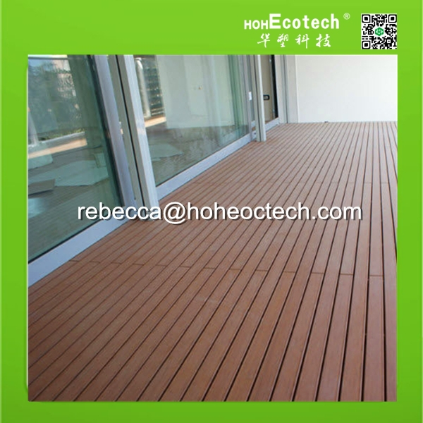 CE certificate High quality Outdoor WPC solid decking/plastic flooring looks like wood/engineered floor