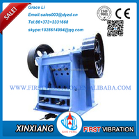 Best material low price high efficiency jaw crusher for rock stone ore from Henan