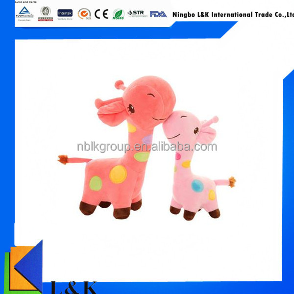 cute deer soft plush toy, child toy