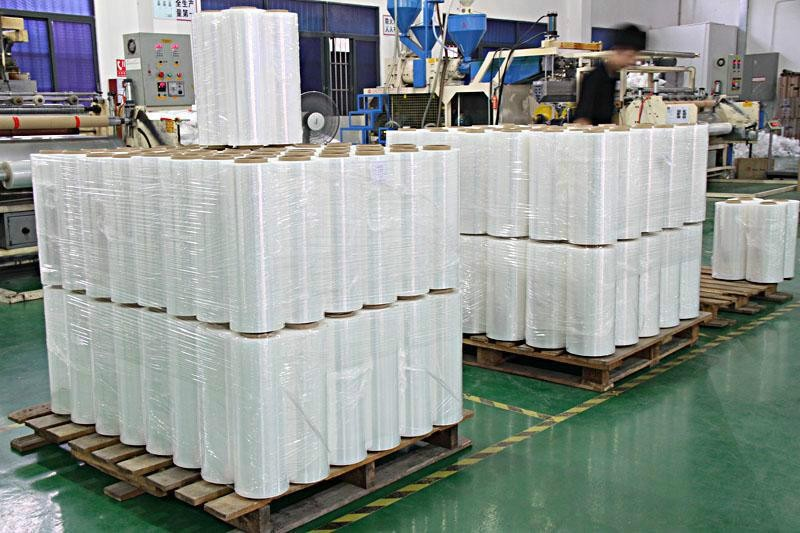 Packing Strong Elongation Stretch Films Manual Hand stretch Film LLDPE stretch film