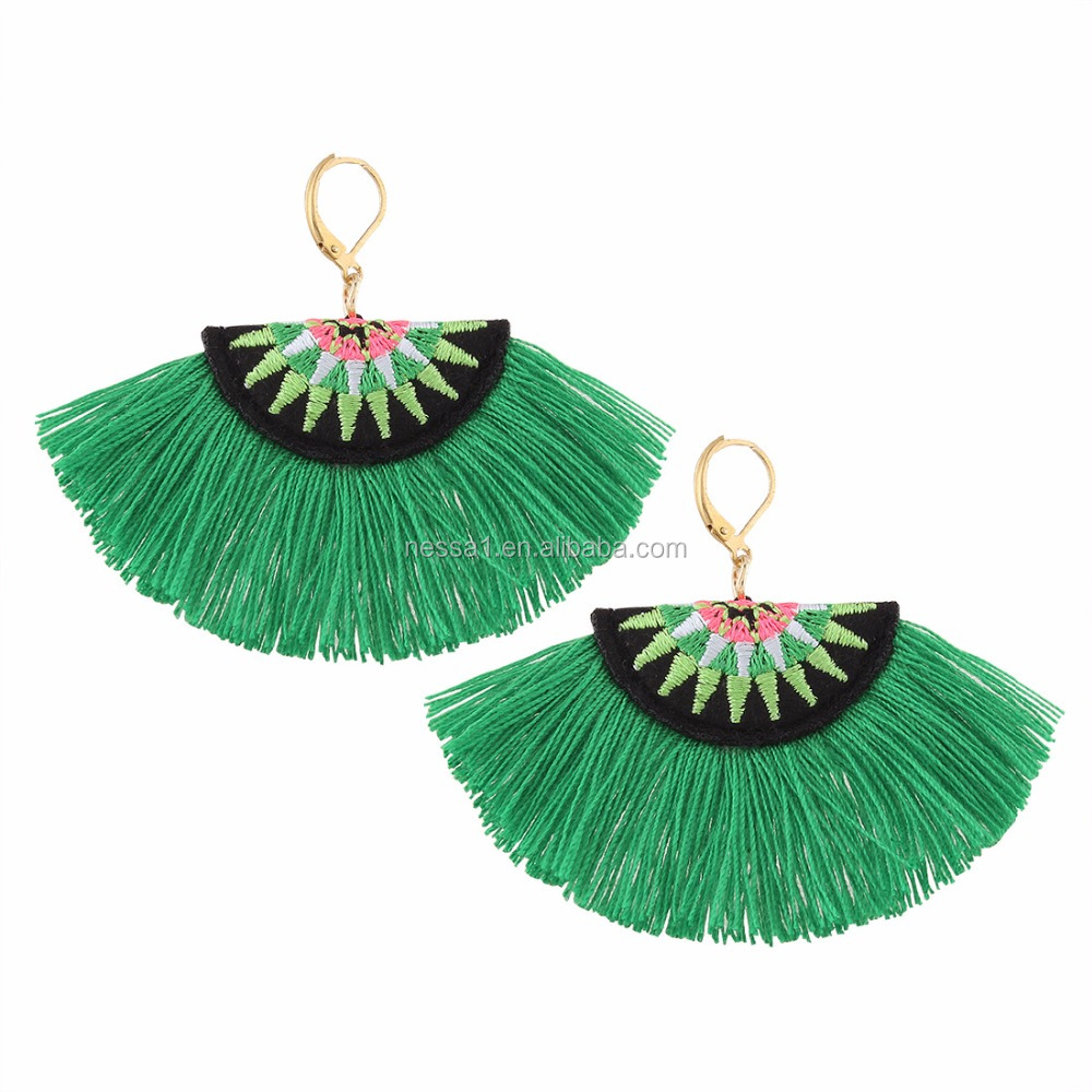 Fashion wholesale tassel earrings wholesales QR-008