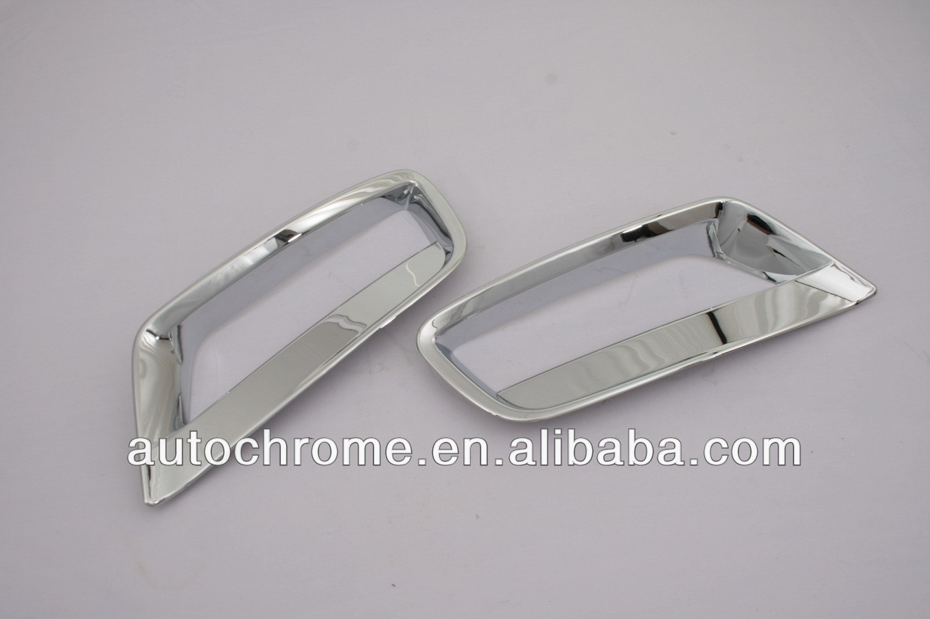 Chrome Front Fog Light Cover Lower Side Set for BMW X3 F25