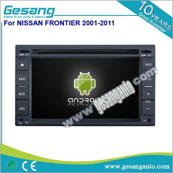 Android 6.2 inch universal car dvd player with 3g wifi for Nissan FRONTIER 2001-2011