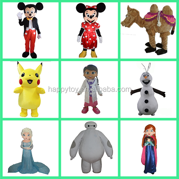 HI good quality custom mascot costumes china made