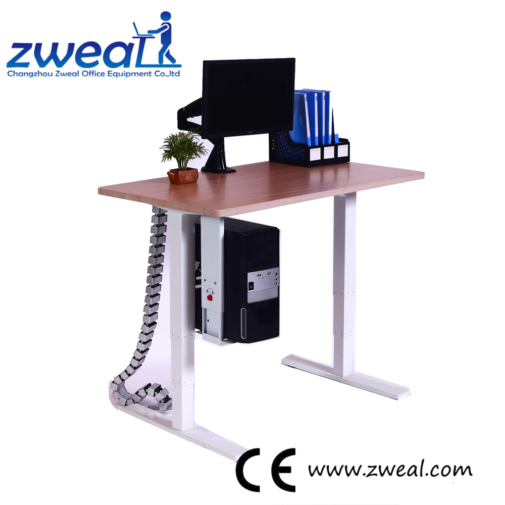 simple study desk furniture office furniture table in changzhou electric adjustable desks