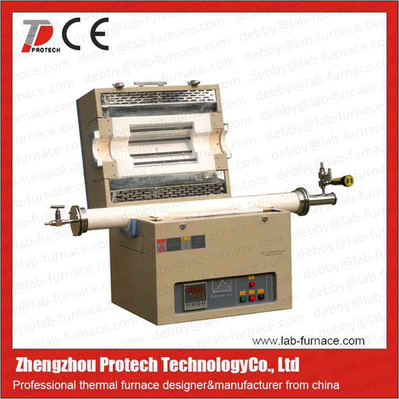 Protech lab vacuum tube furnace China manufacturer