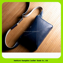 15021 PU Material and travel leather document holder with strap