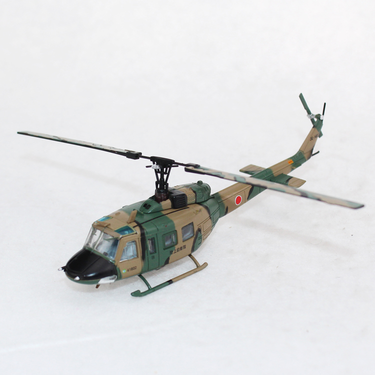 China Supplier Manufacture The Plane Middle Size Diecast UH-0J 1:100 Model Helicopter