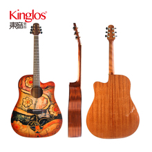 wholesale high quality guitar Kinglos 41/40/39 adult bass replica guitar for sale JTDB-N36-A