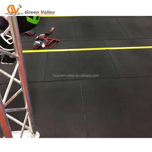 New product rubber flooring tiles for gym recycle rubber tile
