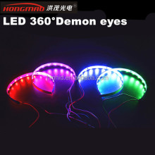 Universal led demon eyes,RGB led devil eyes for Bi-xenon projector lens angel eyes,car headlight dual