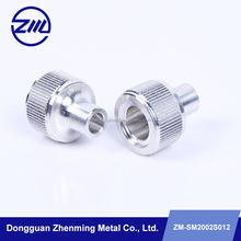 High quality aluminum knurled flange blank parts,nikon camera fitting