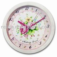plastic wall clock(promotion gifts, cheap and classic wall clock)