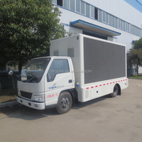 high quality best price P6,P8, P10 outdoor full screen 4*2 JMC led mobile truck for sale
