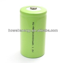 1.2V D NiMh 10000mAh rechargeable battery