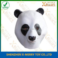 X-MERRY Panda Mask Bear CRO Latex Overhead Movie Quality Zoo Animal Fancy Party