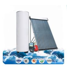 Solar heat collectors for warm water