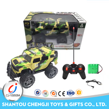 Cool plastic 1:16 high speed lighting green blue rc military jeep