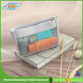 New Design Packing Mesh Pvc Zipper Bag