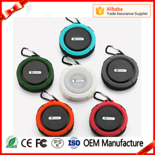 2017 Portable Mini HIFI Stereo Sound Box C6 Waterproof Bluetooth Speaker Shower Speaker For Outdoor Sport