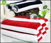 Cotton Terry Customized Towel Black And Red Velvet Towel 140X70CM,China Manufacturer