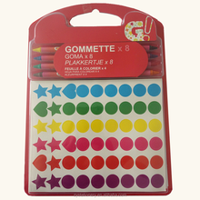 Custom school supplies stationery set with Crayon sticky paper