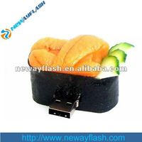Delicious food 2GB USB Flash Drive/rubber usb flash
